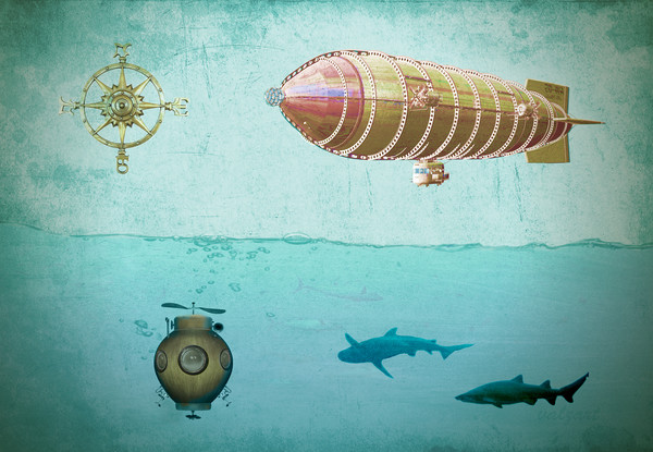 Navigators Canvas print by Valerie Anne Kelly