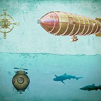 Buy canvas prints of Navigators by Valerie Anne Kelly