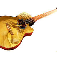 Buy canvas prints of The guitar is a lady by Valerie Anne Kelly