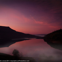 Buy canvas prints of Absolute first light at Ladybower by Martin Jones