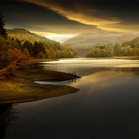 Buy canvas prints of Early morning solitude by Martin Jones