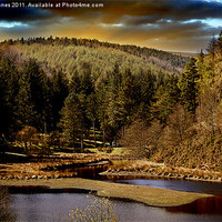 Buy canvas prints of Sunrise over the Clough by Martin Jones
