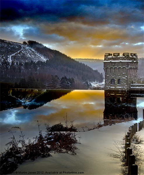 Winter comes to Howden Canvas print by Martin Jones