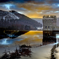 Buy canvas prints of Winter comes to Howden by Martin Jones