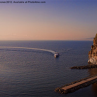 Buy canvas prints of Sorrento Evening by Martin Jones