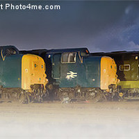Buy canvas prints of Five Sisters by Martin Jones