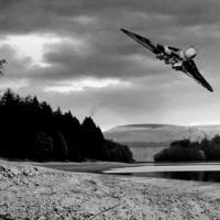 Buy canvas prints of Vulcan over Derwent by Martin Jones