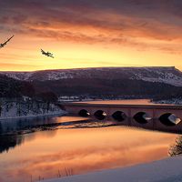 Buy canvas prints of  Two in the Valley by Martin Jones