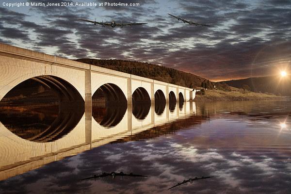 Lancasters over the Bridge Canvas print by Martin Jones