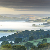 Buy canvas prints of  Morning Mist Magic by Martin Jones