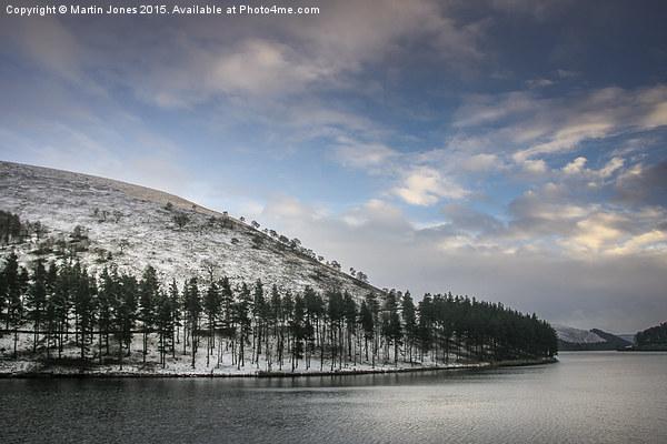 Winter over Howden Canvas print by Martin Jones