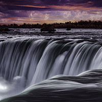 Buy canvas prints of The Horseshoe Falls at Niagara by Martin Jones