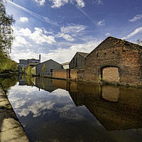 Buy canvas prints of The Sheffield & South Yorkshire Navigation  by K7 Photography
