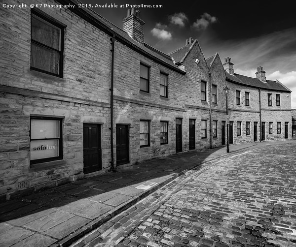 The Coal Merchants Offices, Victoria Quays  Canvas print by K7 Photography