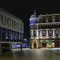 Buy canvas prints of Theatre Land, Sheffield by K7 Photography