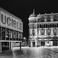 Buy canvas prints of Welcome to Sheffield's Theatre land by K7 Photography