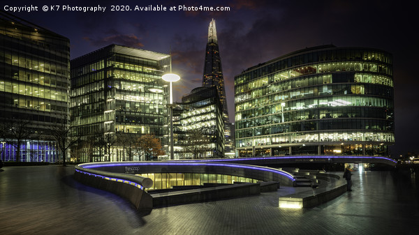 Ghosts of the Southbank Canvas print by K7 Photography