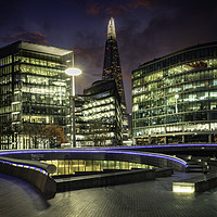 Buy canvas prints of Ghosts of the Southbank by K7 Photography