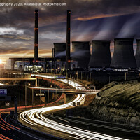 Buy canvas prints of Ferrybridge Power Station  by K7 Photography