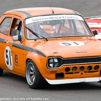 Buy canvas prints of Ford Escort Mexico by Nigel Bangert