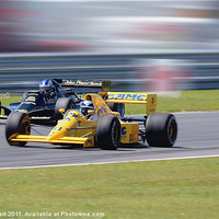 Buy canvas prints of Lotus Type 79 and 102T by Nigel Bangert
