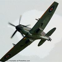 Buy canvas prints of Spitfire by Nigel Bangert
