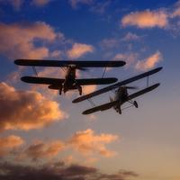 Buy canvas prints of Hawker Nimrod Bi-planes by Nigel Bangert