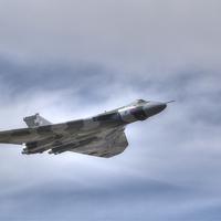 Buy canvas prints of Avro Vulcan B2 by Nigel Bangert