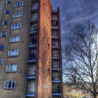 Buy canvas prints of    The Lawn Balconies  by Nigel Bangert