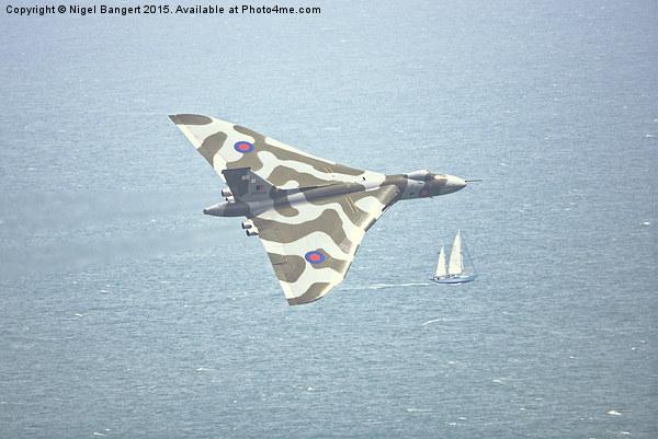 Avro Vulcan Canvas print by Nigel Bangert