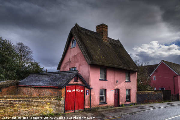 The Engine House Canvas print by Nigel Bangert