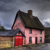 Buy canvas prints of The Engine House by Nigel Bangert