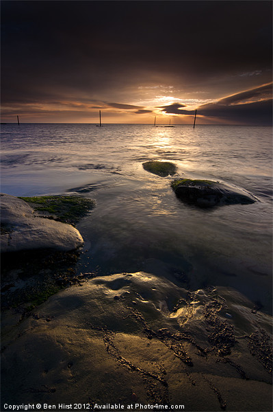 Westhaven Sunrise Canvas print by Ben Hirst