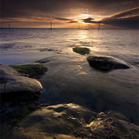 Buy canvas prints of Westhaven Sunrise by Ben Hirst