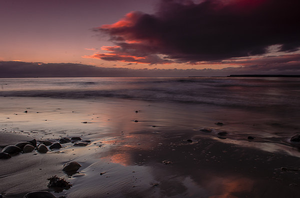 Broughty Ferry Sunrise Canvas print by Ben Hirst