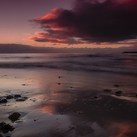 Buy canvas prints of Broughty Ferry Sunrise by Ben Hirst