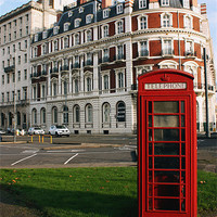 Buy canvas prints of South Western House Telephone Box by Terri Waters