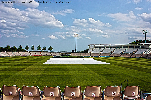 Hampshire County Cricket Ground Canvas print by Terri Waters