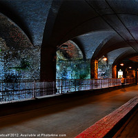 Buy canvas prints of The Dark Arches by Colin Metcalf