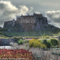 Buy canvas prints of Lindisfarne Castle (Holy Island) by Colin Metcalf