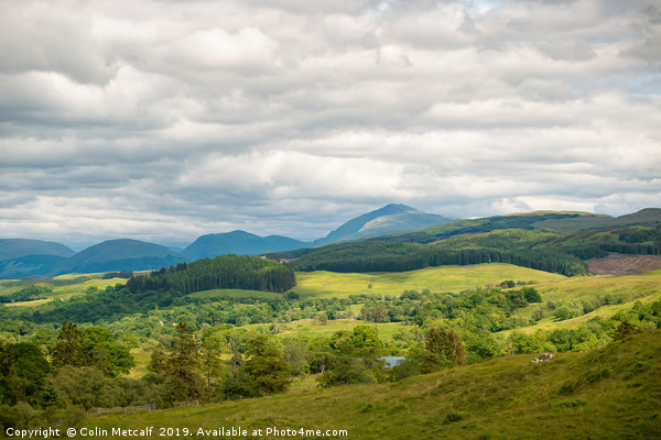 Argyle and Bute Landscape Canvas print by Colin Metcalf