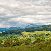 Buy canvas prints of Argyle and Bute Landscape by Colin Metcalf