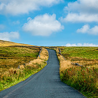 Buy canvas prints of Country Road by Colin Metcalf