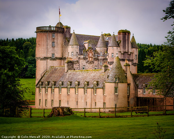 Castle Fraser Canvas print by Colin Metcalf