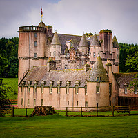Buy canvas prints of Castle Fraser by Colin Metcalf