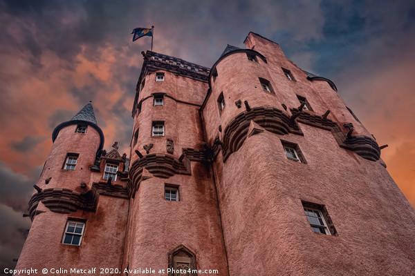 Craigievar Castle Canvas print by Colin Metcalf