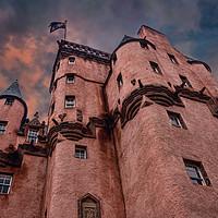 Buy canvas prints of Craigievar Castle by Colin Metcalf