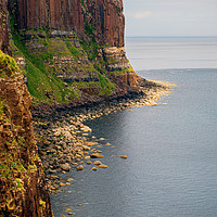 Buy canvas prints of Kilt Rock by Colin Metcalf