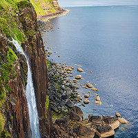 Buy canvas prints of Mealt Falls by Colin Metcalf