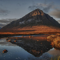 Buy canvas prints of Buachaille Etive by Geo Harris